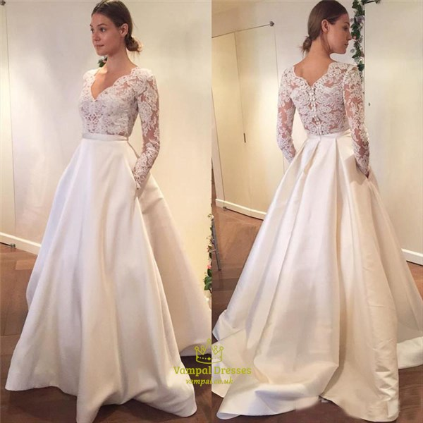 Wedding Dress Lace Top