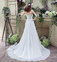 White Strapless Sleeveless Ruched Crystal Prom Dress With Train
