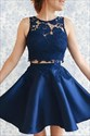 Exquisite Two Pieces Jewel Neckline Homecoming Dress
