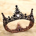 Queen Crown Cake Topper Metal Pearl Baroque Style Toppers Wedding Decorator Decor