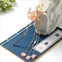 Retro Flower Hairpin Ancient Style Tassel Headwear Hair Accessory