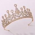 Crystal Rhinestones Heart-Shaped Wedding Headpieces