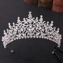 Rhinestones Baroque Wedding Headpieces