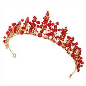 Shinning Hand-Made Crystal Wedding Headpieces