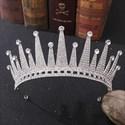 Zircon Rhinestones Bridal Tiara princess Headpieces
