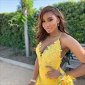 Yellow V Neck Mermaid Spaghetti Strap Lace Applique Bodice Prom Dress