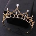 Alloy Zircon Princess Headpieces Bridal Tiara