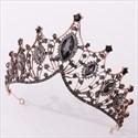 Alloy Crystal Baroque Princess Headpieces Bridal Tiara