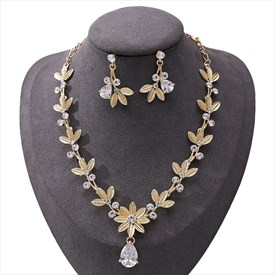 Alloy Zircon Flower 3 Piece Bridal Tiaras Princess Headpieces