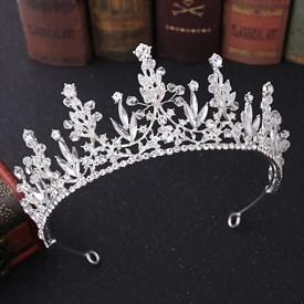 Crystal Hand-Made Rhinestones Princess Bridal Tiaras
