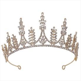 Luxurious Crystal Rhinestones Princess Bridal Tiaras