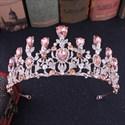 Stylish Crystal Alloy Drip Princess Crown Wedding Tiaras