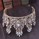 Captivating Rhinestones Crystal  Princess Crown Bridal Tiara