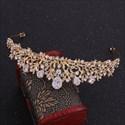 Zircon Alloy Floral Bridal Tiaras Princess Crown