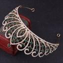 Luxurious Baroque Alloy Rhinestones Bridal Tiara Princess Crown