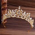 Dramatic Crystal Bridal Tiara With Rhinestone Accents