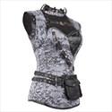 Steampunk Steel Bone Armor Shaper Corset With Lace