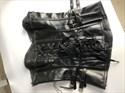 Sweetheart Gothic Leather Steel Boned Shaper Corset