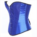 Strapless Cotton Steel Boned Shaper Corset With Boning