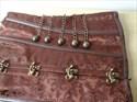 Vintage Embroidery Steel Boned Shaper Corset