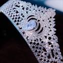 Glittery Alloy Zircon Princess Crown Bridal Tiara