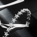 Glamorous Alloy Star Rhinestones Princess Bridal Headbands