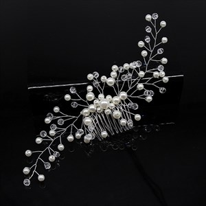 Handmade Hair Comb With Pearl