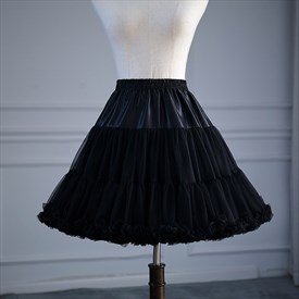 Cloud Lolita Cosplay Short Adjustable Petticoat Without Bone