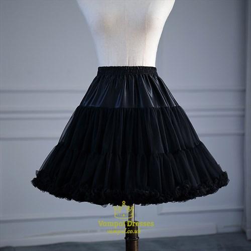 Cloud Lolita Cosplay Short Adjustable Petticoat Without Bone