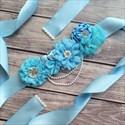 Floral Baby Shower Mom-To-Be Ribbon Sash Bridal Belt