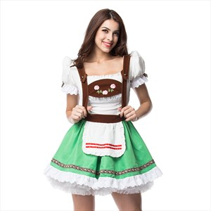 German Dirndl Costumes Dress for Bavarian Oktoberfest Carnival