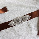Vintage Pearls And Rhinestone Wedding Belt Bridesmaid Sash