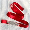 Enchanting Pearls And Rhinestone Bridal Belt Bridesmaid Sash