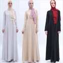 Women's A-Line Long Sleeves Arab Ramadan Maxi Dress