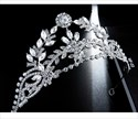 Alloy Crystal Wedding Crown Princess Tiara With Rhinestone Accents