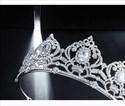 Zircon Alloy Rhinestone Wedding Crown Princess Tiaras
