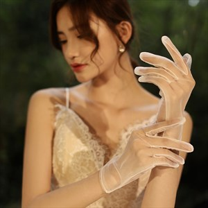 Tulle Short Gloves