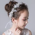 Girls Princess Headbands With Pearls Embellished