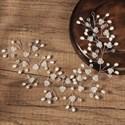 Handmade Birthday Girl Crystal Bridal Hair Vine With Pearls