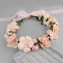 Lace Embellished Wreath Beach Hand-Made Flower Hair Vine