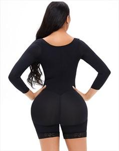 Long Sleeves Full Body Tummy Control Shapewear