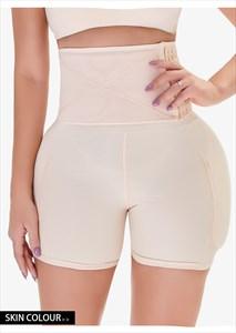 High Waist Butt Lifter Hip Enhancer Pads Shaper Shorts