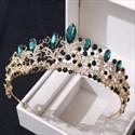 Birthday Girl Crystal Bridal Tiara With Rhinestone Accents