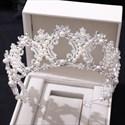 Birthday Girl Princess Crown Bridal Tiara With Pearls