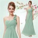 One Shoulder Chiffon Bridesmaid Dresses UK,One Shoulder Bridesmaid Dresses Real Wedding
