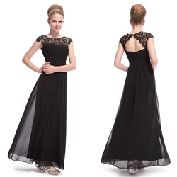 Mother Of The Bride Dresses With Sleeves Or Jackets,Prom Dresses With Lace Cap Sleeves