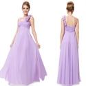 Chiffon One Shoulder Bridesmaid Dresses Long,One Shoulder Bridesmaid Dresses Real Wedding UK