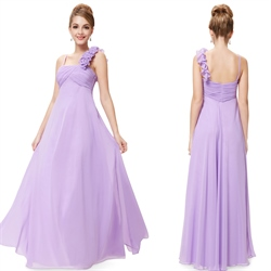 Chiffon One Shoulder Bridesmaid Dresses Long,One Shoulder Bridesmaid Dresses Real Wedding UK