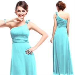 Simply Dresses One Shoulder Bridesmaid Dresses,One Shoulder Bridesmaid Dresses Long Chiffon