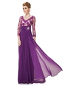 Purple Mother Of The Bride Dresses UK,Mother Of The Bride Dresses Floor Length With Jacket